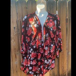 Torrid Sz 4/5 floral kimono